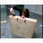 Изготовление коробки для картин с возможностью открытия на таможне, Киев