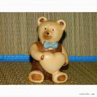 Деревянная статуэтка DOLFI Teddy Bear Мишка Тедди