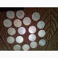 Продам монеты 1992 года 10, 25, 50