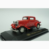 Масштабная модель автомобиля Ford 3-Window Coupe 1932 1:43