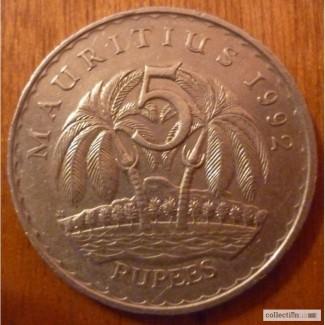 5 рупи Мавритания,