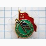 Значок «INTOURIST MOSCOU». Интурист. Москва