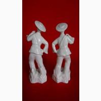 Белый керамический коллекционный фарфор