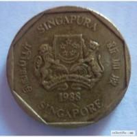 1 доллар Сингапур