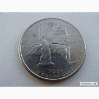 25 центов США Нью Йорк