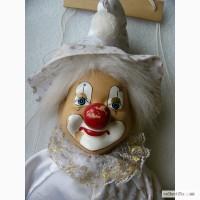 Редчайшая, коллекционная, Театральная кукла-марионетка Клоун, Германия 60-е