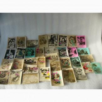 Редкая Коллекция открыток, 35 шт. 40-50гг. Ссср
