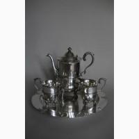 Винтажный кофейный набор из столового серебра