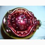 Ёлочная игрушка Часы куранты, каталожная, СССР