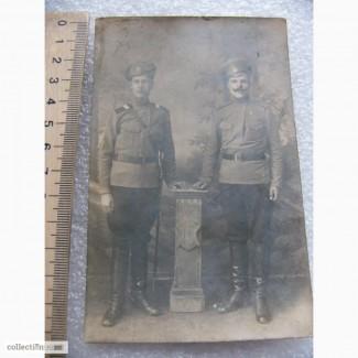 Фото Старший Унтерофицер и рядовой РИА, 1900-е годы