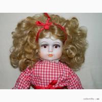 Большая Винтажная Интерьерная Фарфоровая Кукла
