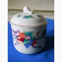 Фарфоровая Японская ваза с крышкой - Gormain Monteil
