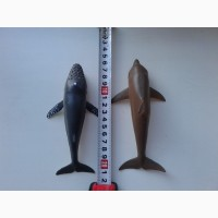 Резиновые игрушки. Дельфин. С пищалкой. Фигруки игрушечные