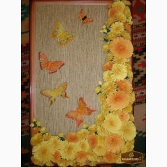 Картина. Квіти з паперу на замовлення