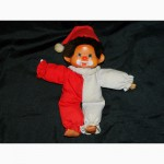 Винтажная Кукла Обезьянка Monchhichi Мончичи Клоун 80х годов