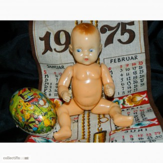 Антикварная Винтажная Кукла Vintage Dolls на резинках 40-50х годов