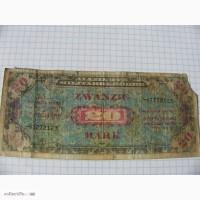 20 марок, Германия 1944 год, Американская оккупация