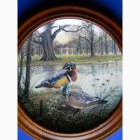 The Wood Duck - коллекционное, настенное блюдо