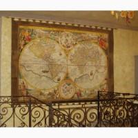 Подарок - географические копии старых карт