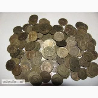 Продам монеты обиходные 1 коп СССР 1961-1991 гг