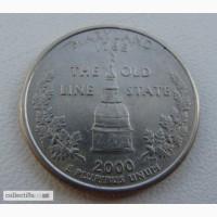 25 центов США Мериленд