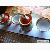Фарфоровый чайный набор 60-е. СССР, Полтавский з-д