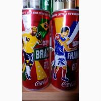 Коллекционные банки Coca-Cola ЧМ-2010