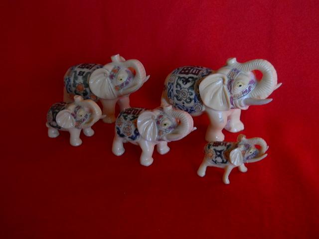 Фото 10. Индийские слоны