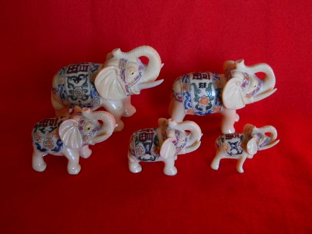 Фото 3. Индийские слоны