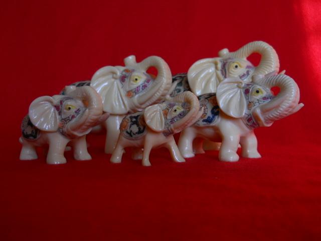 Фото 4. Индийские слоны