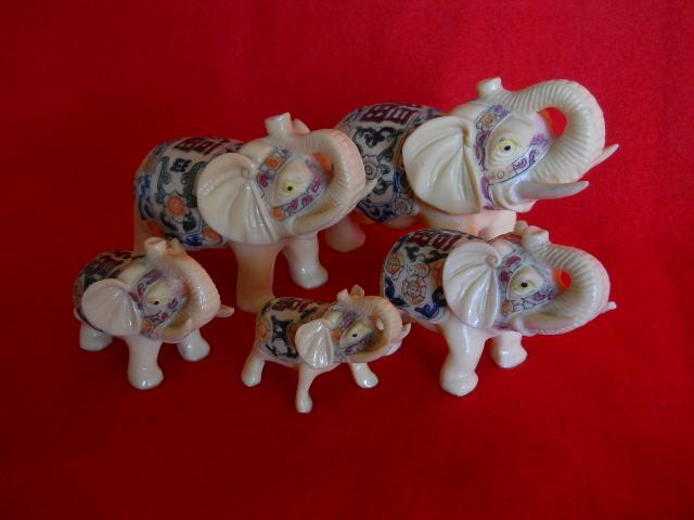 Фото 6. Индийские слоны