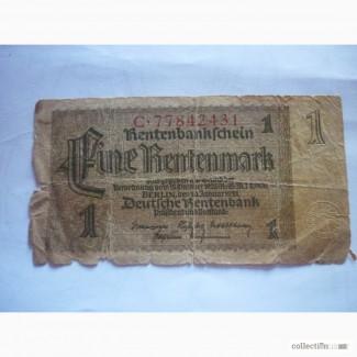 1 марка Германия 1923
