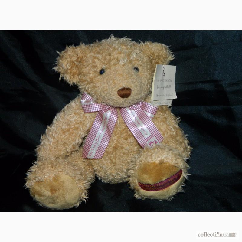 Фото 2. Мишка Медвежонок Benjamin Fluffy Teddy Bear Limited 1 of 4000