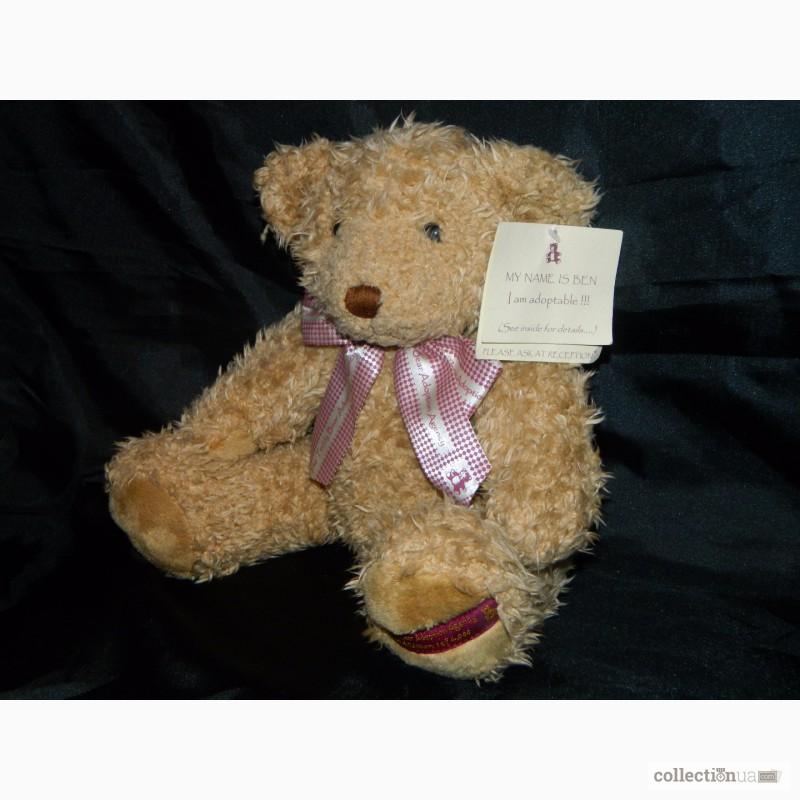 Фото 3. Мишка Медвежонок Benjamin Fluffy Teddy Bear Limited 1 of 4000
