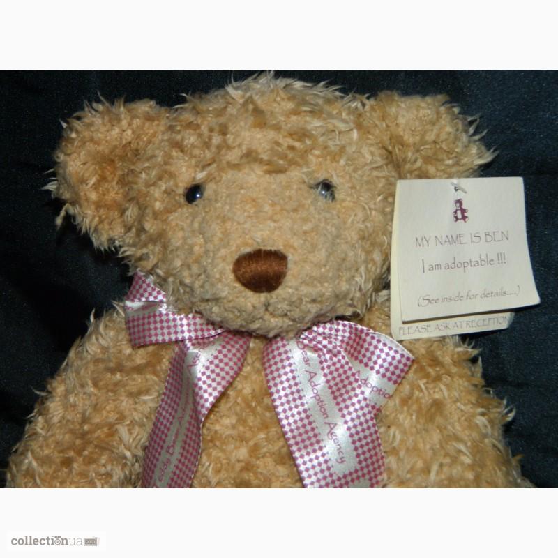 Фото 5. Мишка Медвежонок Benjamin Fluffy Teddy Bear Limited 1 of 4000