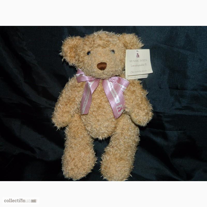Фото 6. Мишка Медвежонок Benjamin Fluffy Teddy Bear Limited 1 of 4000