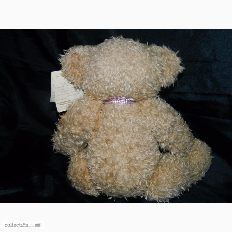 Фото 8. Мишка Медвежонок Benjamin Fluffy Teddy Bear Limited 1 of 4000