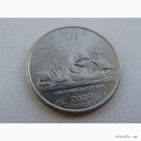 25 центов США Вирджиния
