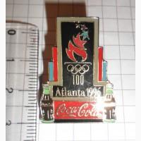 Значок Atlanta 1996