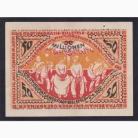 50 000 000 марок 1923г. Билефельд. Германия