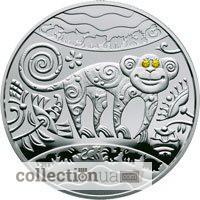 Монета Год обезьяны, Киев. Коллекционные монеты Украины
