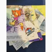 Подборка открыток - рассказ Месть кота Леопольда