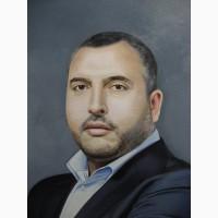 Заказать портрет маслом на холсте Киев.Заказать портрет у художника Киев