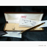 Винтажная Ручка Cross 10 Karat Rolled Gold Made in Ireland