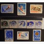 Продам почтовые марки СССР спортивная тематика