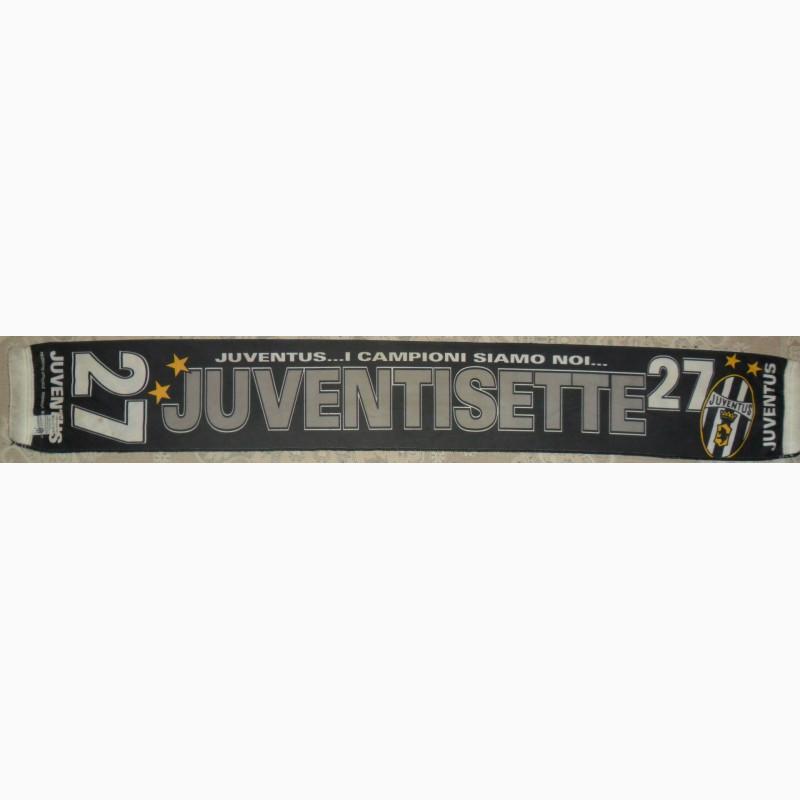 Фото 2. Шарф Juventus FC, Juvenisette 27 Ми чемпіони