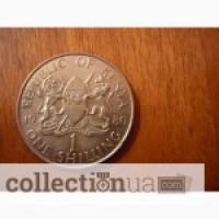 1 шилинг 1980 Кения