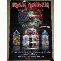Плакат, афіша Iron Maiden