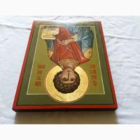 Икона Святой великомученик Пантелеймон целитель. Письмо темперой, ручная работа