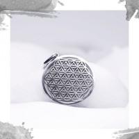 Срібний кулон «Квітка життя»